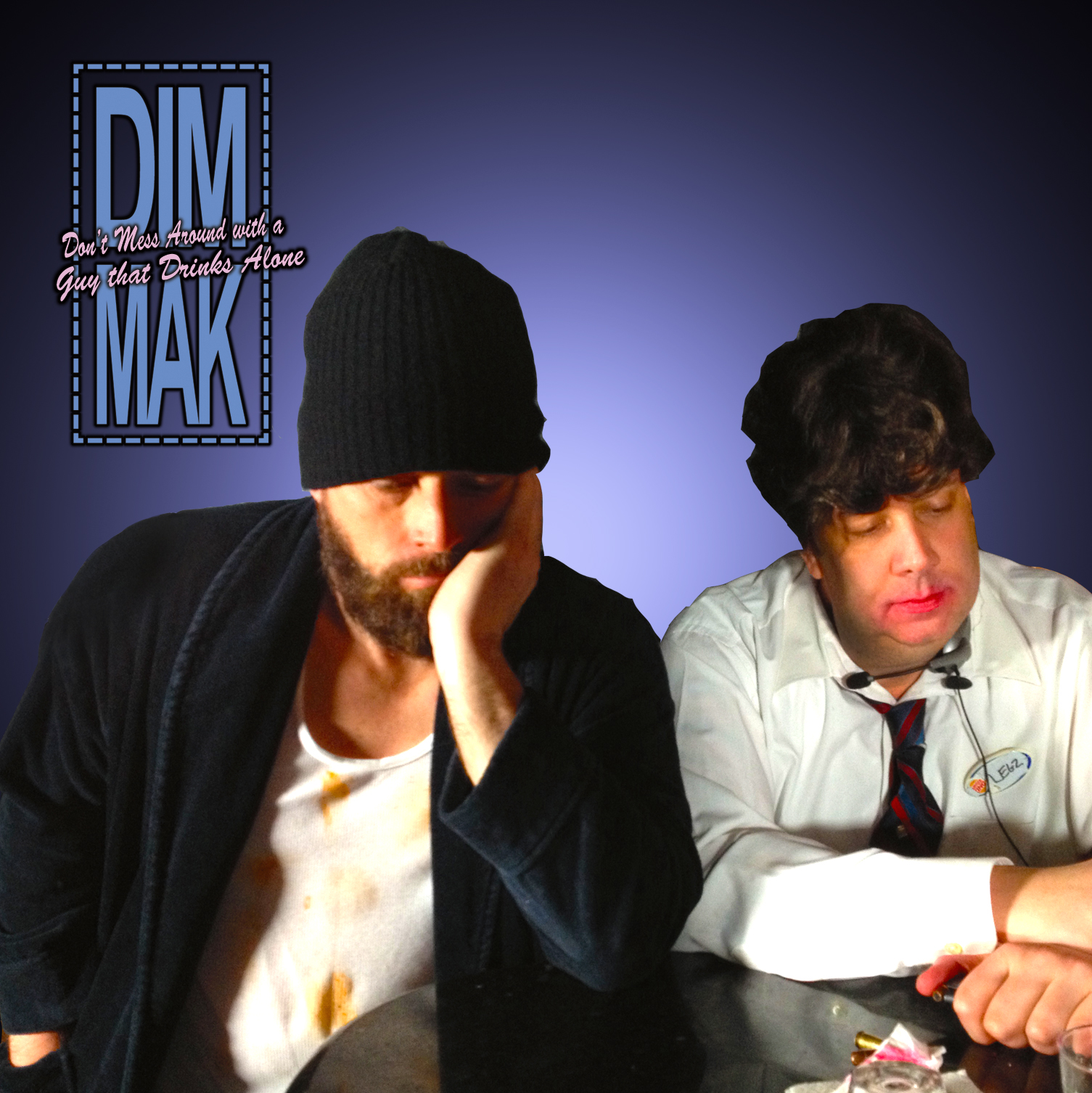 Don't Mess Around With A Guy That Drinks Alone by Project Dim Mak single cover